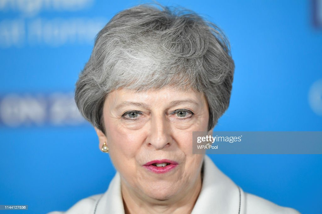GBR: Theresa May Hits Campaign Trail For EU Election