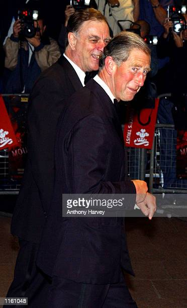 Britain's Prince Charles arrives at the premiere of Moulin Rouge September 3 2001 in London England