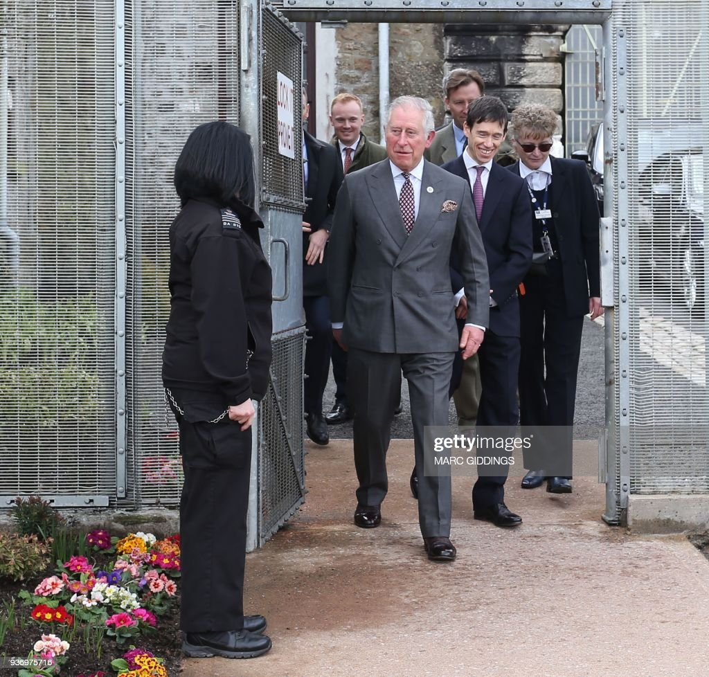 The Prince Of Wales Visits Dartmoor Prison