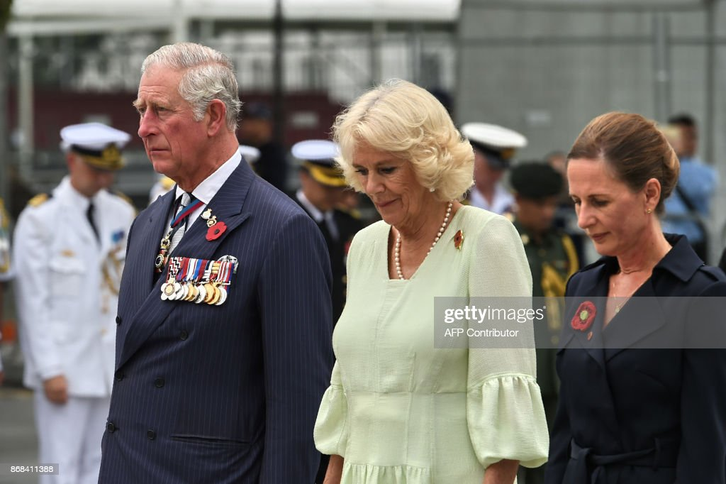 SINGAPORE-BRITAIN-ROYALS : News Photo