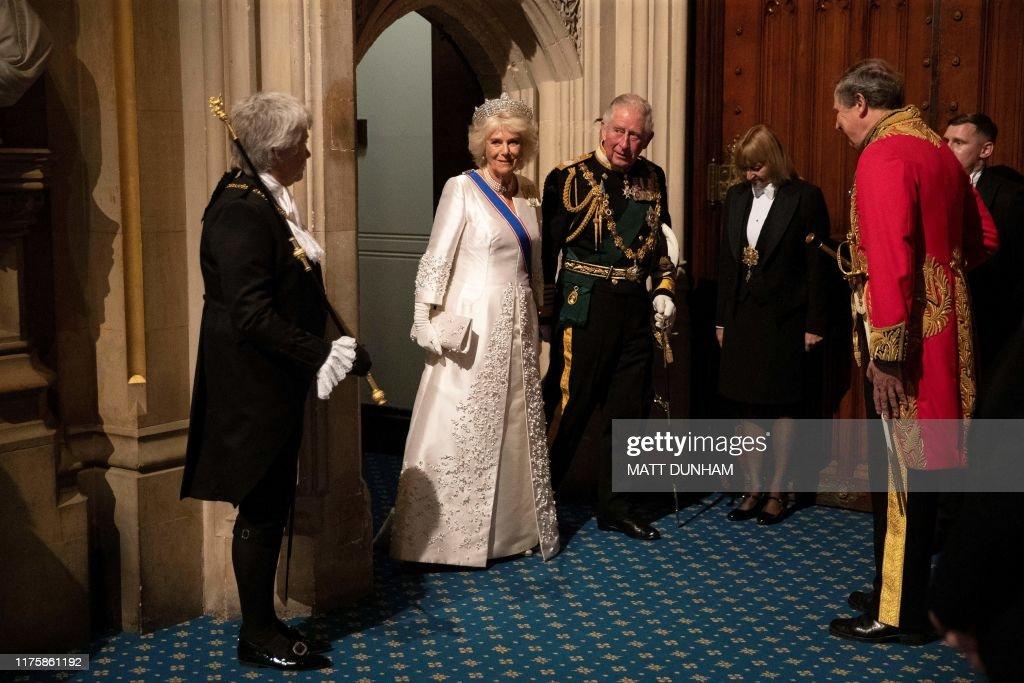 BRITAIN-EU-POLITICS-BREXIT-ROYALS : News Photo