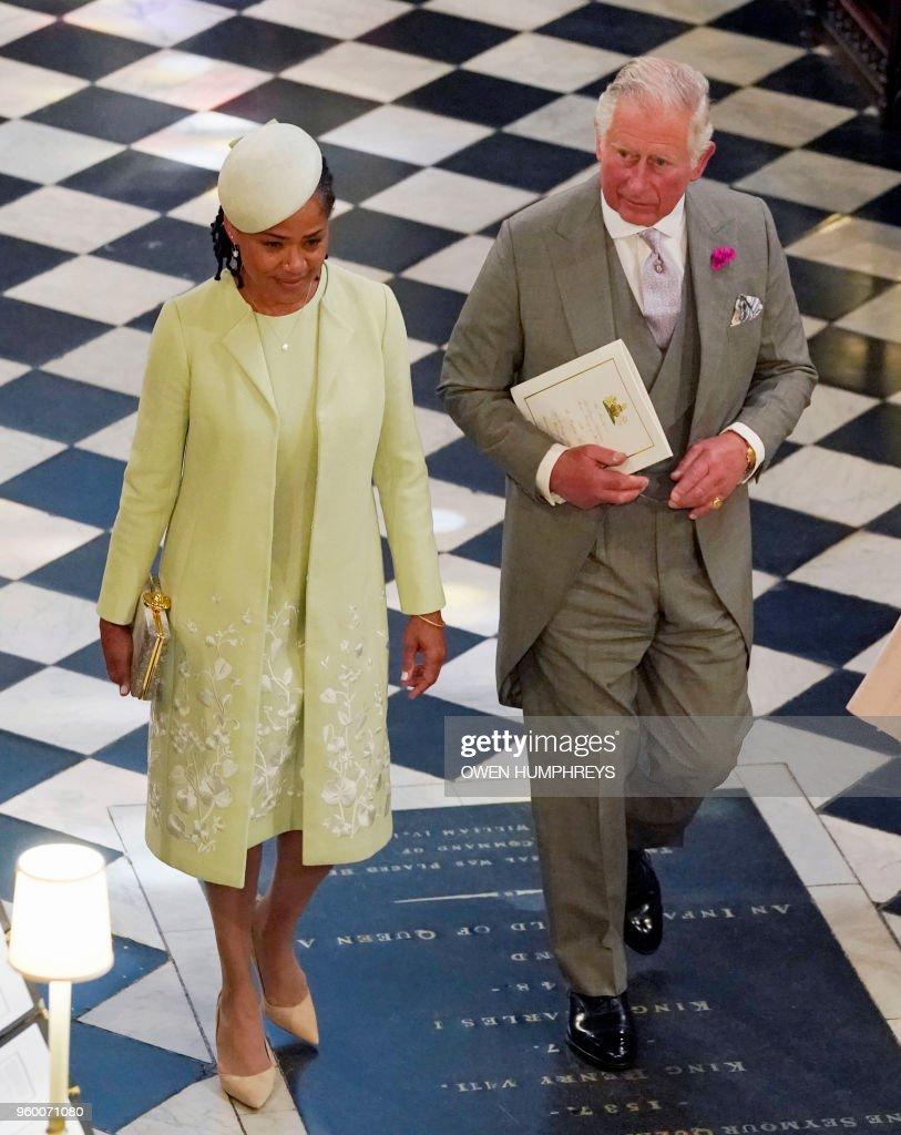 BRITAIN-US-ROYALS-WEDDING-CEREMONY : News Photo