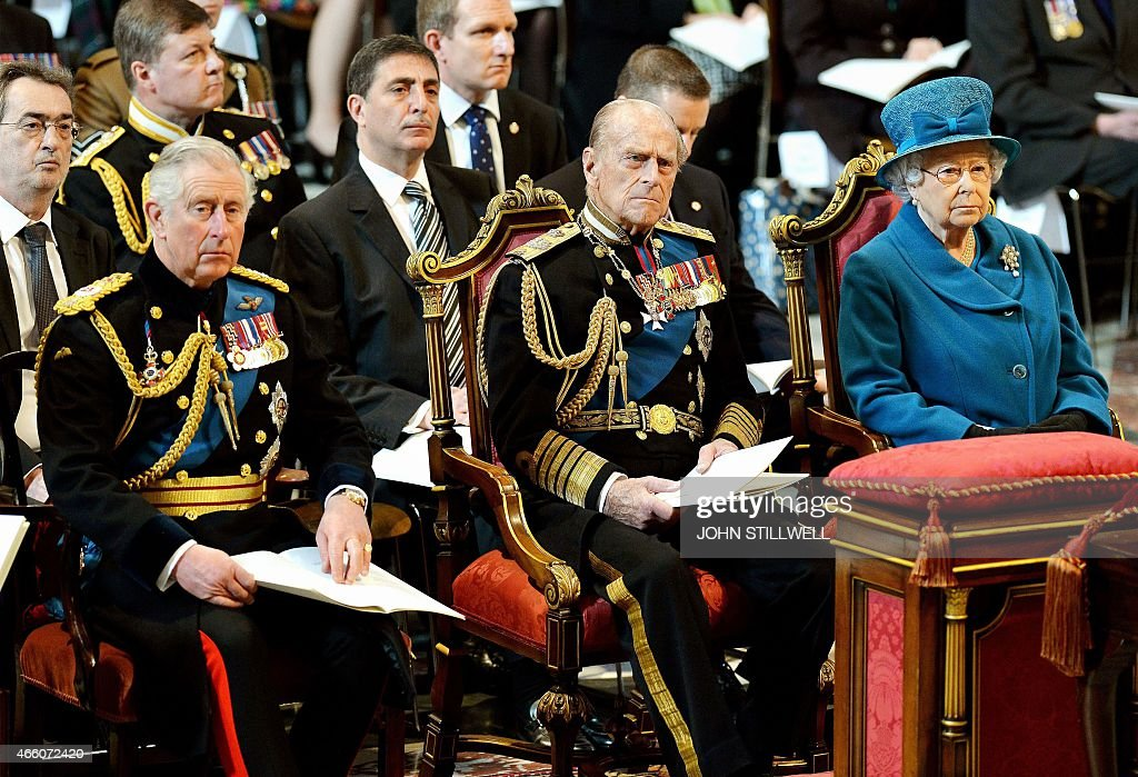 BRITAIN-AFGHANISTAN-UNREST-MILITARY-ROYALS : News Photo