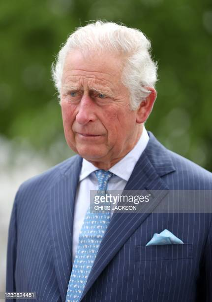 Britain's Prince Charles, Prince of Wales during a visit to St Bartholomew's Hospital, where he viewed its historic Grade I listed buildings and met...