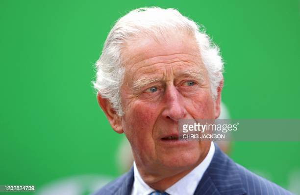 Britain's Prince Charles, Prince of Wales looks on during a visit to St Bartholomew's Hospital, where he viewed its historic Grade I listed buildings...