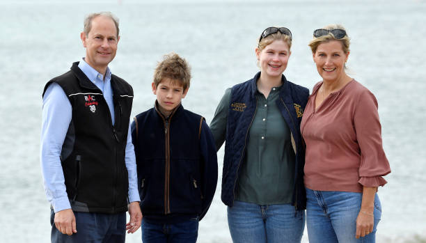 GBR: The Earl And Countess Of Wessex Take Part In A Great British Beach Clean