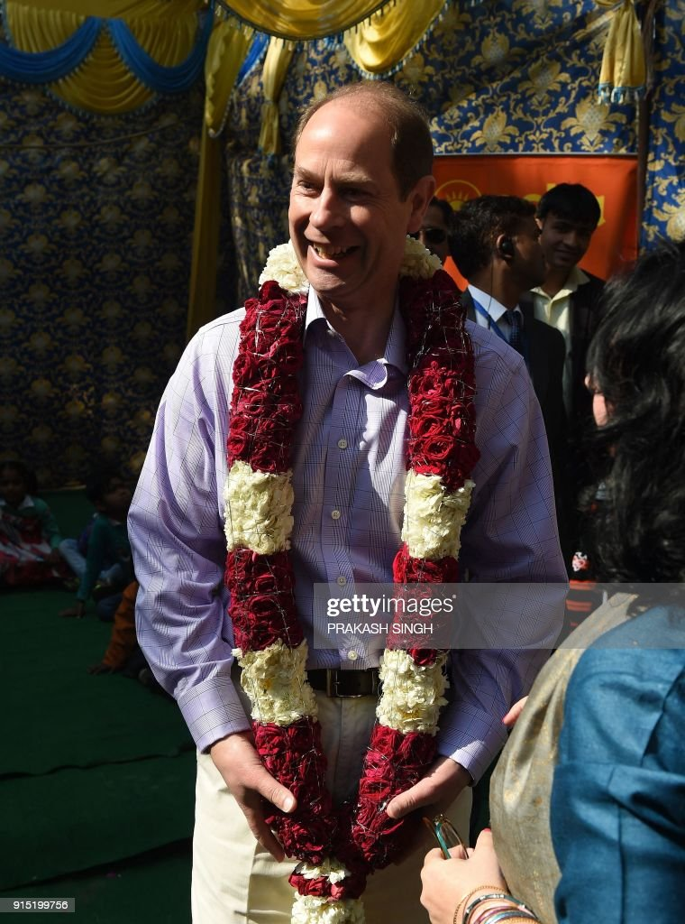 Earl of Wessex Prince Edward Visits British Council In Delhi