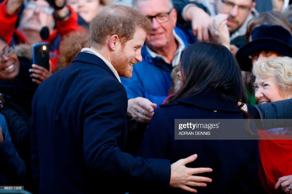 BRITAIN-ROYALS-HARRY : News Photo