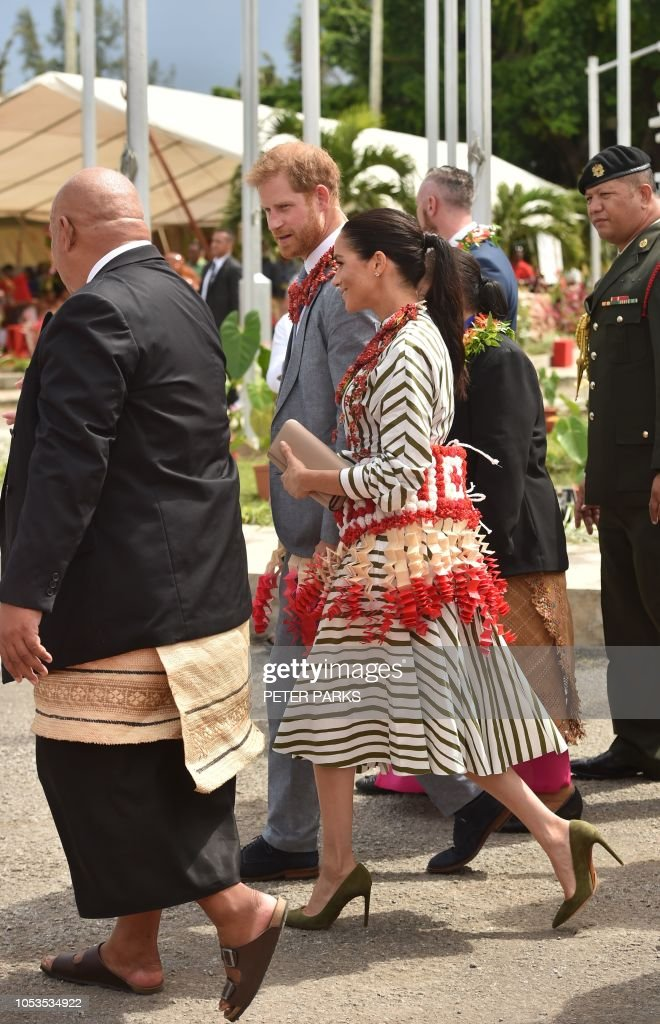 TONGA-BRITAIN-ROYALS : News Photo