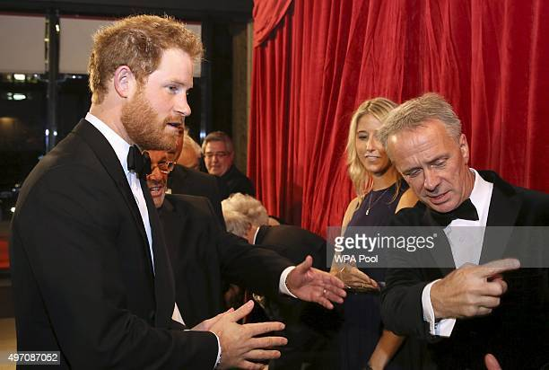 Britain's Prince Harry arrives at the Royal Variety Performance at the Albert Hall on November 13 2015 in London England