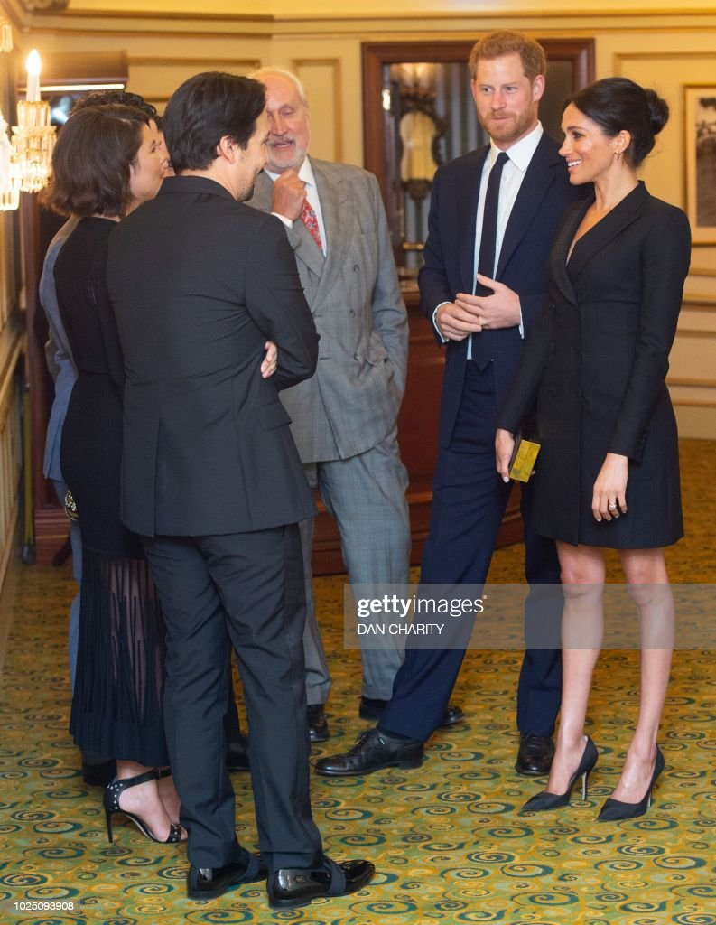 Britain's Prince Harry, Duke of Sussex and Britain's ...