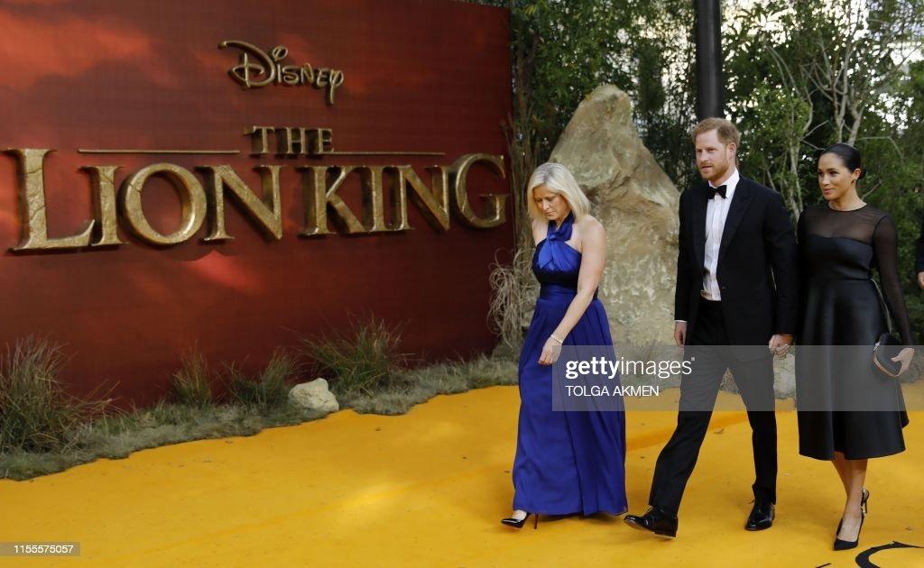 BRITAIN-ENTERTAINMENT-FILM-THE LION  KING-ROYAL : News Photo