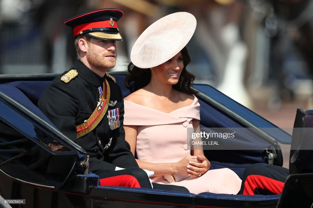 BRITAIN-ROYAL-TROOPING : News Photo