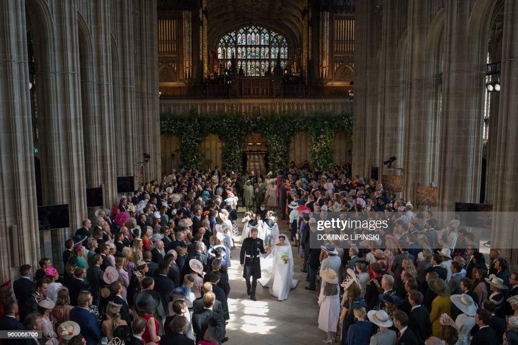 BRITAIN-US-ROYALS-WEDDING-CEREMONY : Fotografia de notícias