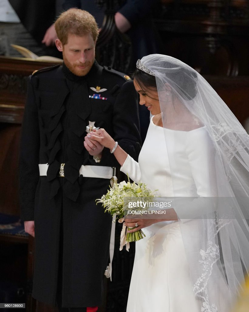 BRITAIN-US-ROYALS-WEDDING-CEREMONY : News Photo