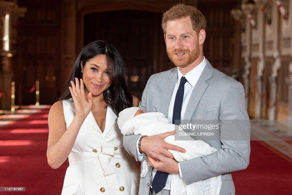 BRITAIN-ROYALS-BABY : News Photo