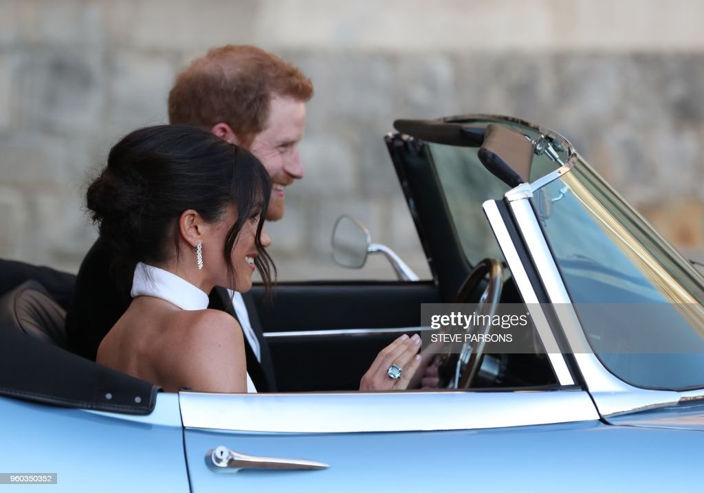 BRITAIN-US-ROYALS-WEDDING : News Photo