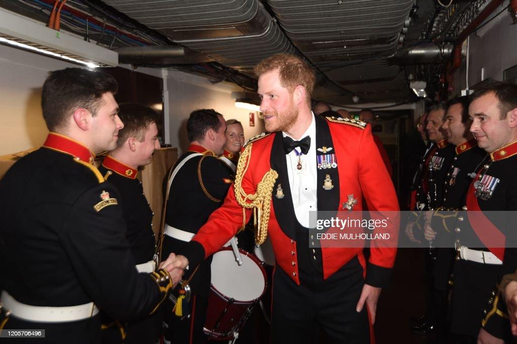 BRITAIN-ROYALS-MUSIC-ARMY : News Photo