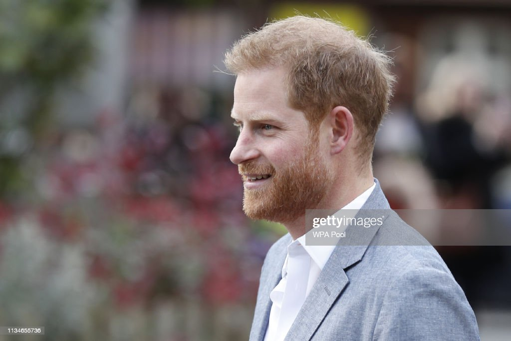 GBR: The Duke Of Sussex Meets Mental Health Organisations During Visit To YMCA
