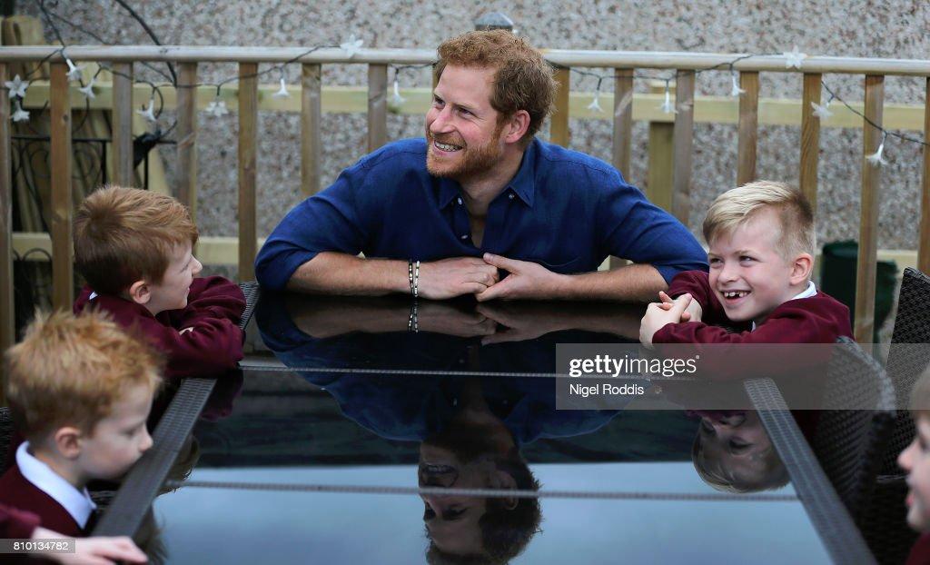 Prince Harry Visits Leeds - Day 2 : News Photo