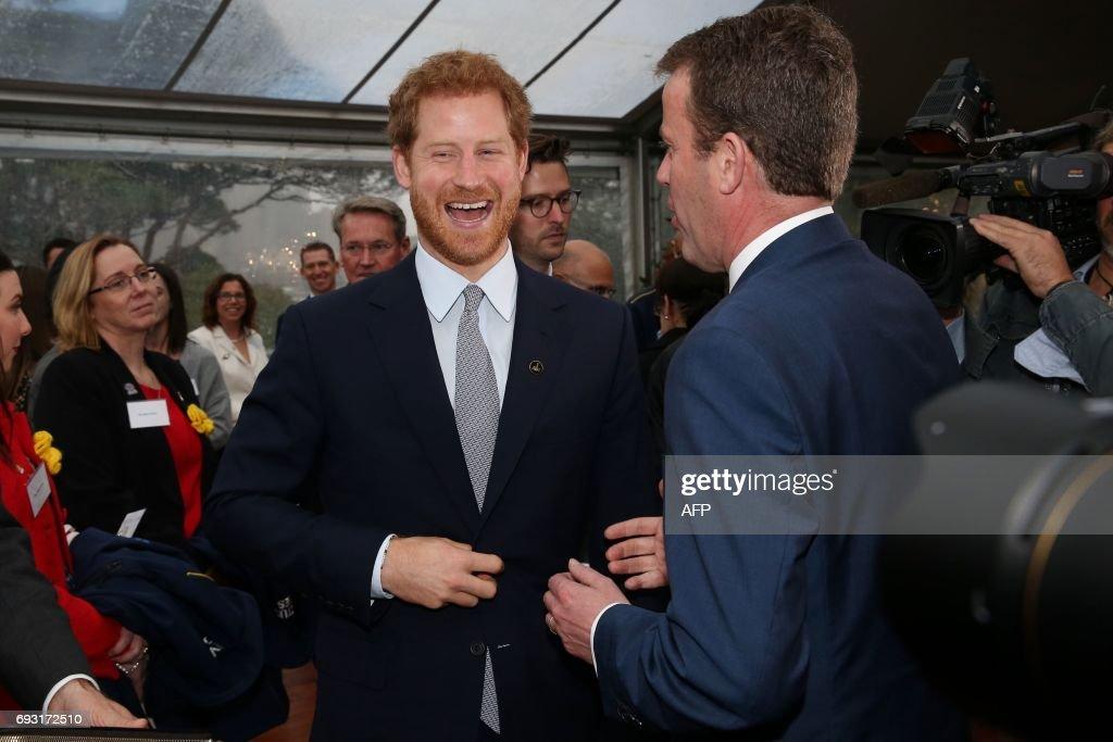 AUSTRALIA-BRITAIN-ROYALS-HARRY-INVICTUS : News Photo
