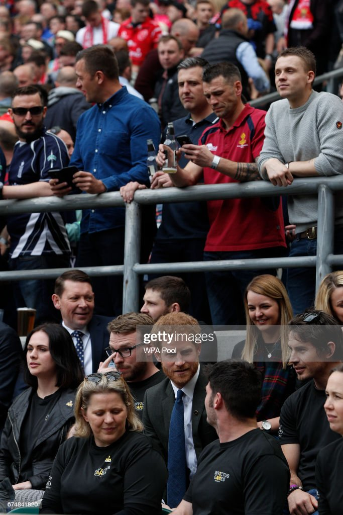 Prince Harry Attends The Army v Navy Match At Twickenham