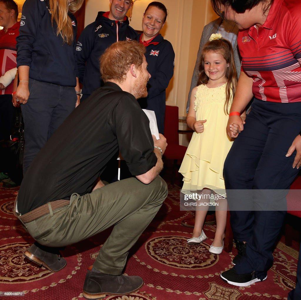 BRITAIN-ROYALS-INVICTUS-GAMES : News Photo