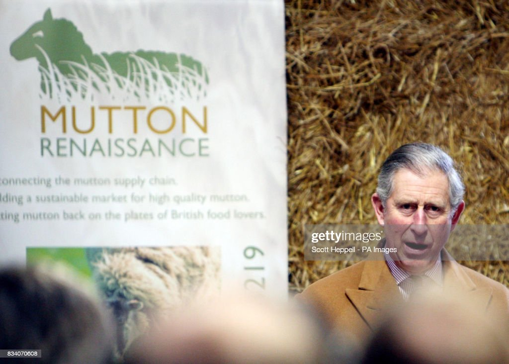 Britain's Prince of Wales, Patron of the Mutton Renaissance ...