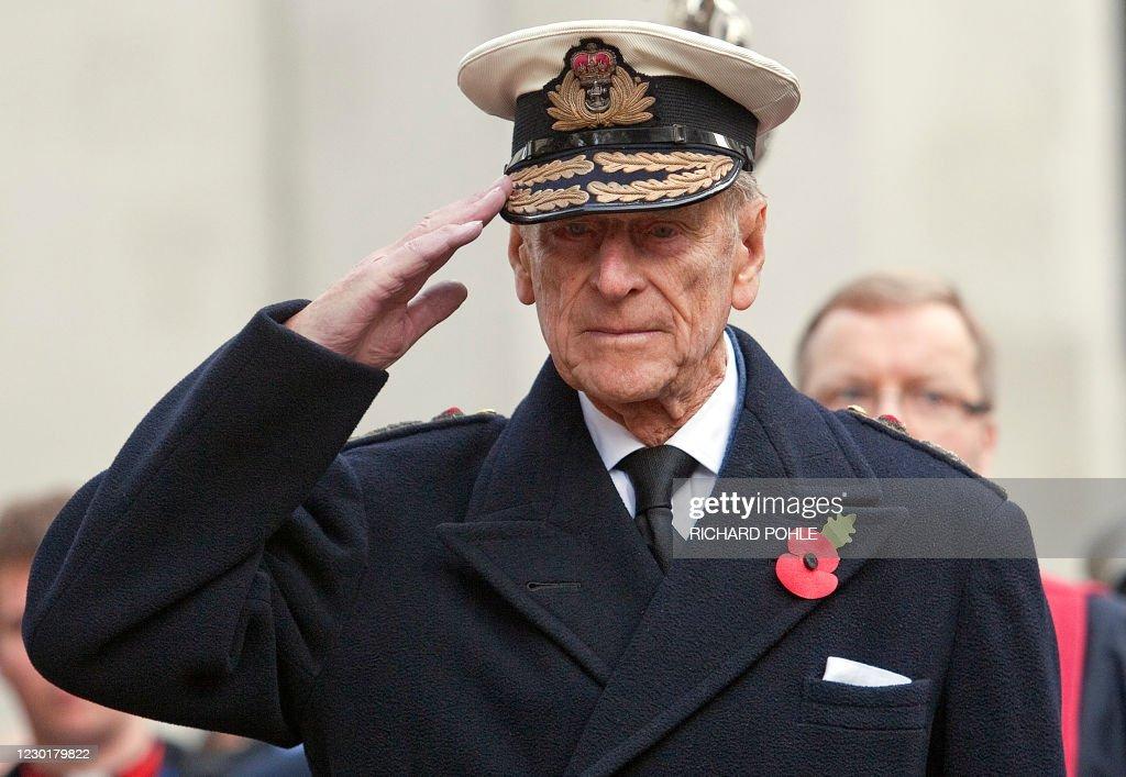 BRITAIN-ROYALS-WAR-REMEMBRANCE : News Photo