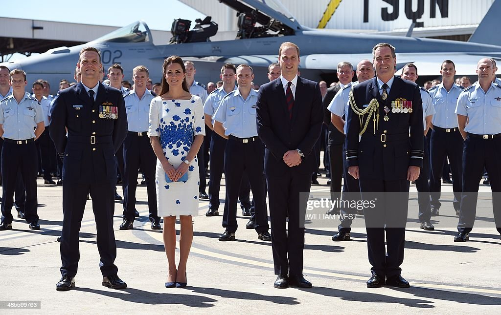 AUSTRALIA-BRITAIN-ROYALS : News Photo