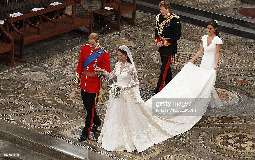 BRITAIN-ROYALS-MARRIAGE : ニュース写真