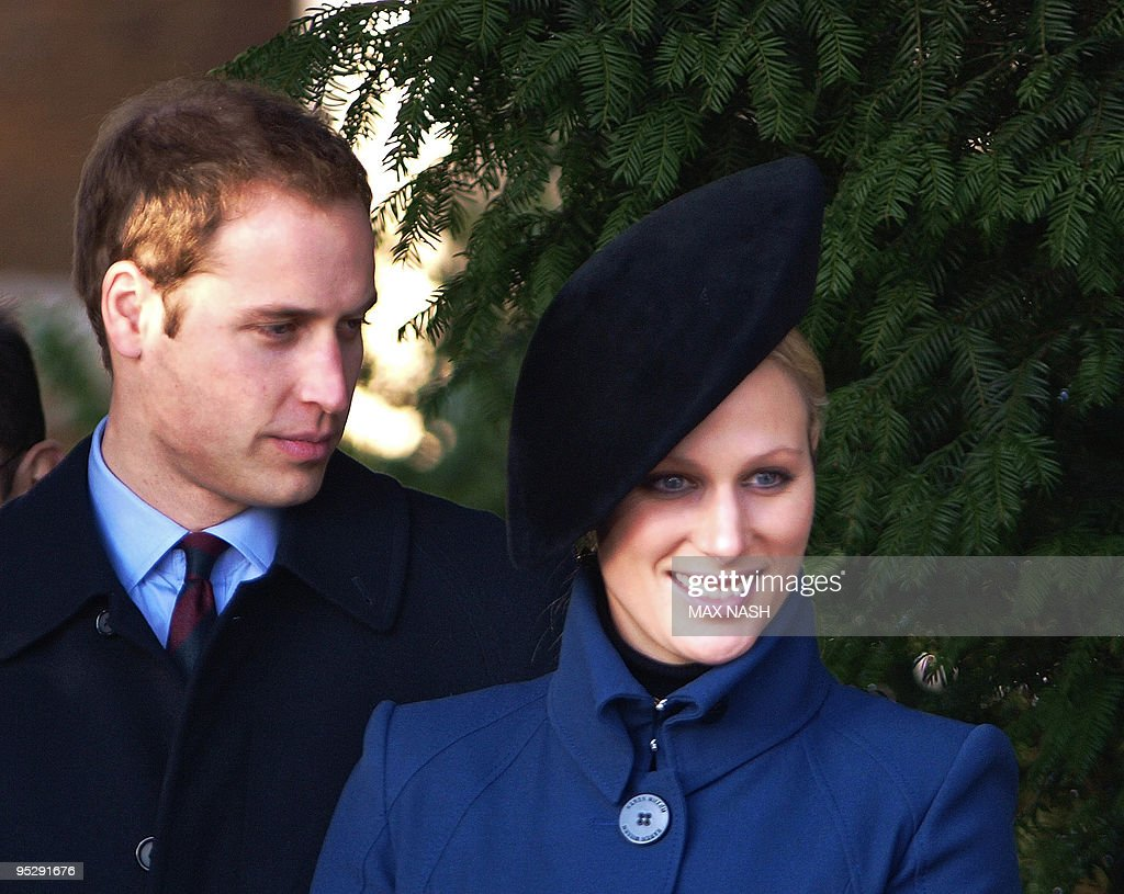 Britain's Prince William (L) and Princes : News Photo