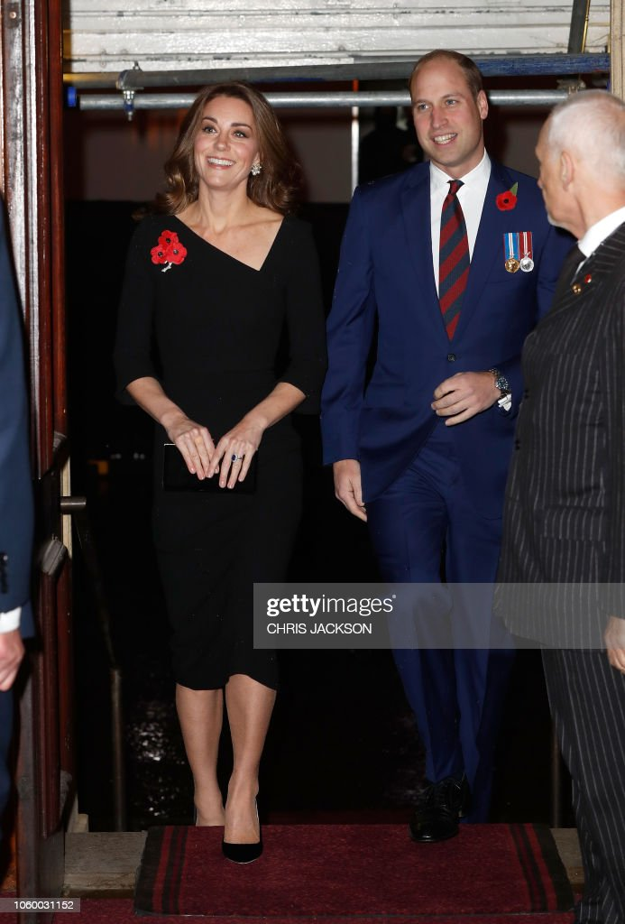 BRITAIN-ROYALS-WWI-REMEMBRANCE-HISTORY : News Photo