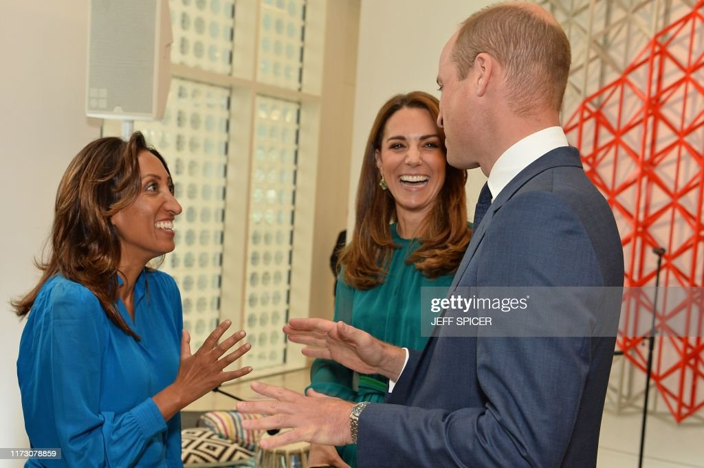 BRITAIN-PAKISTAN-ROYALS : News Photo