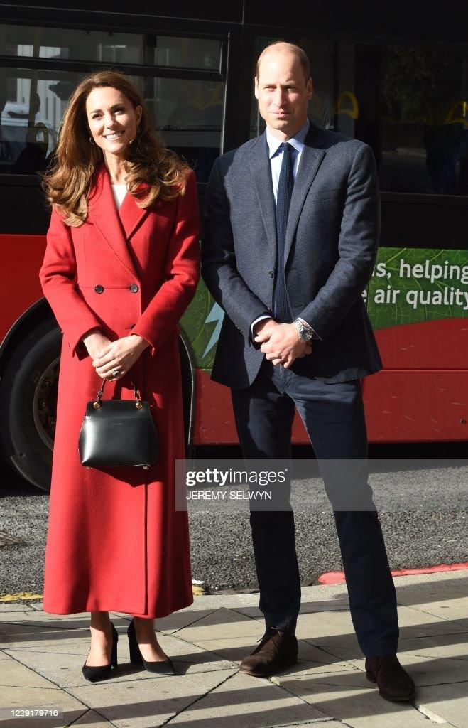 BRITAIN-ROYALS-VISIT : News Photo