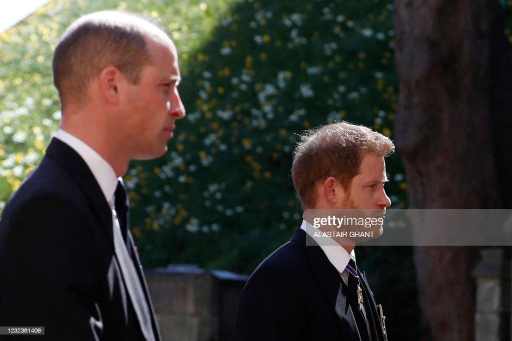 TOPSHOT-BRITAIN-ROYALS-PHILIP-FUNERAL : News Photo