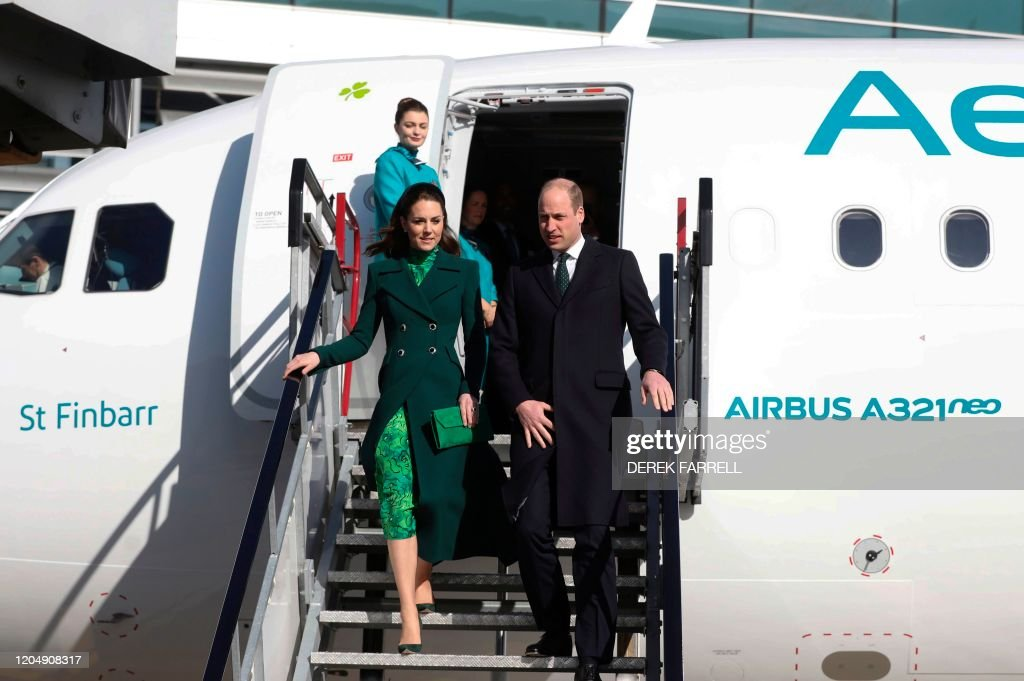 IRELAND-BRITAIN-ROYALS : News Photo