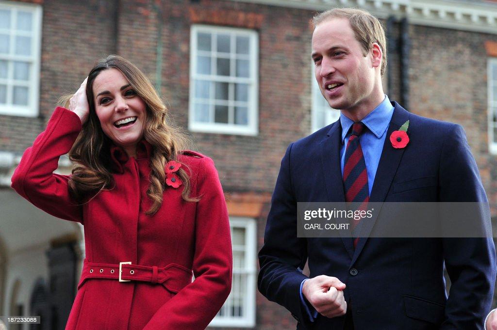 BRITAIN-ROYALS-HISTORY-REMEMBRANCE : News Photo