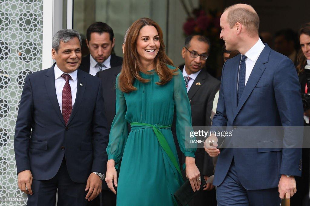 BRITAIN-PAKISTAN-ROYALS : News Photo