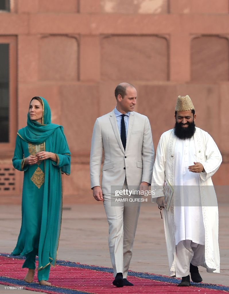 PAKISTAN-BRITAIN-ROYALS-DIPLOMACY : News Photo