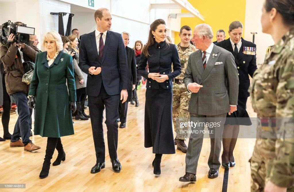 BRITAIN-ROYALS-DEFENCE : News Photo