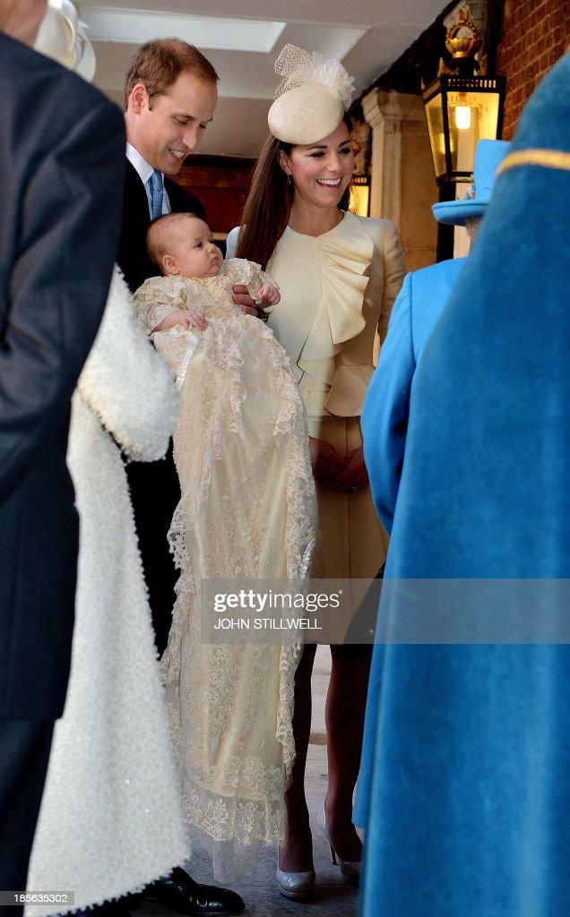 BRITAIN-ROYALS-BABY-RELIGION : News Photo