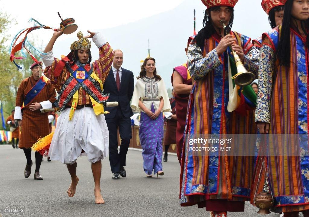 TOPSHOT-BHUTAN-ROYALS : News Photo