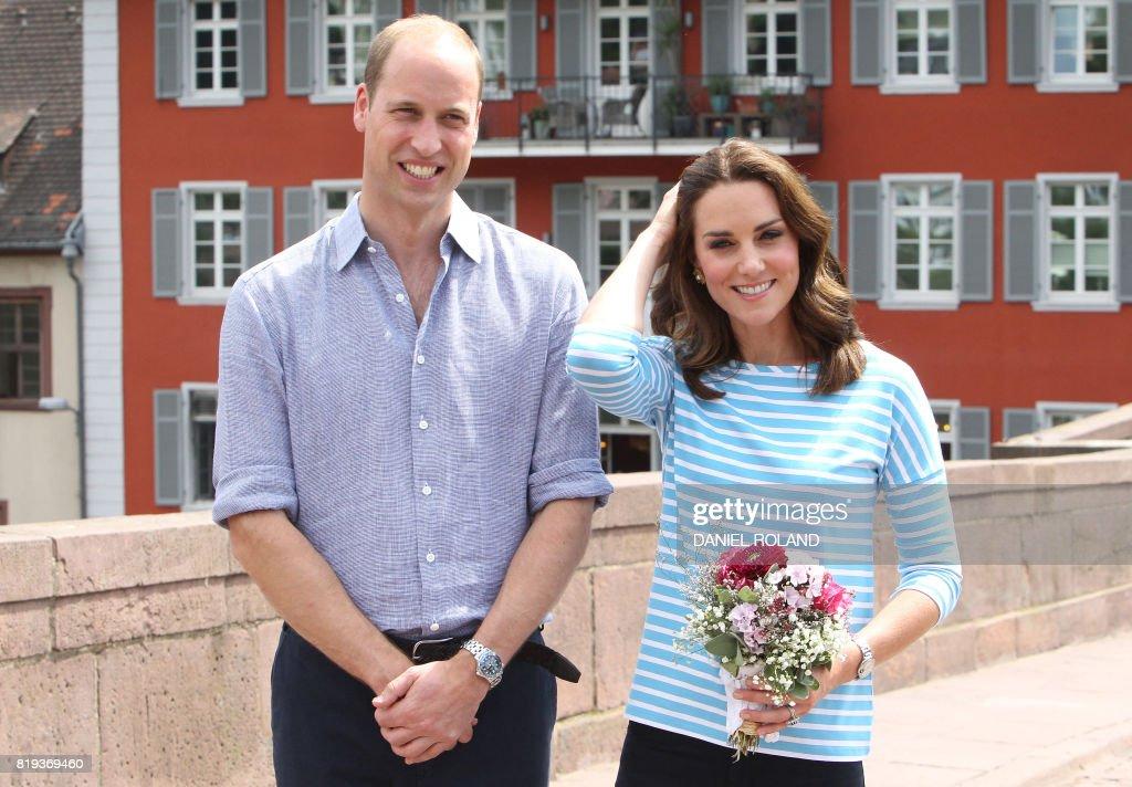 GERMANY-BRITAIN-ROYALS : News Photo
