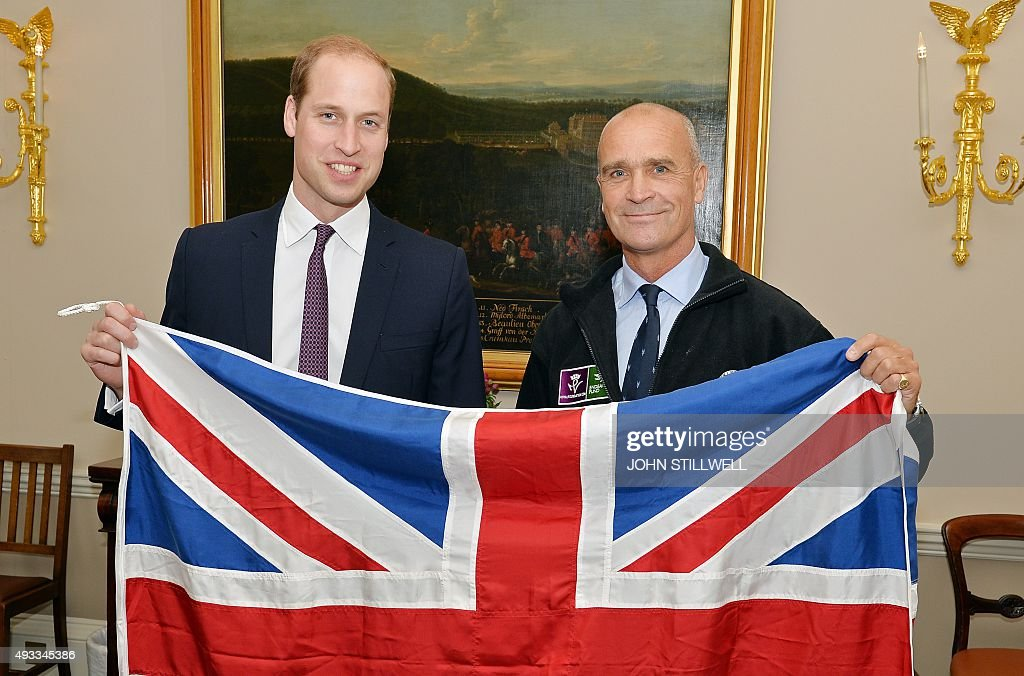 BRITAIN-ROYALS-SHACKLETON : News Photo