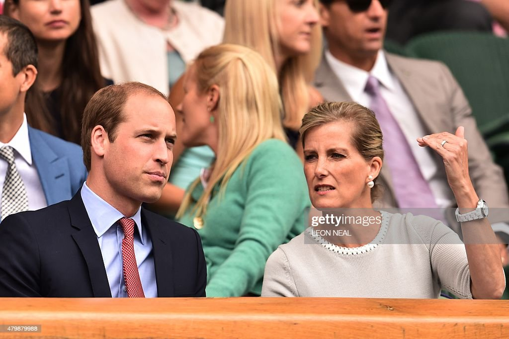 TENNIS-GBR-WIMBLEDON-CELEB : News Photo
