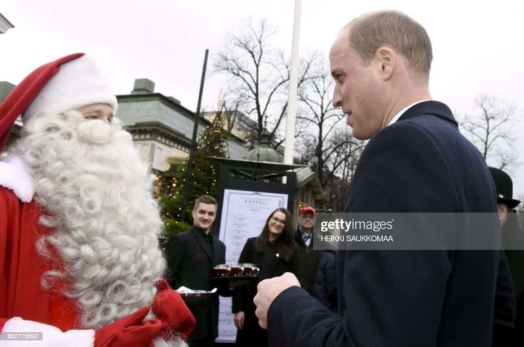 FINLAND-BRITAIN-ROYALS-DIPLOMACY : News Photo