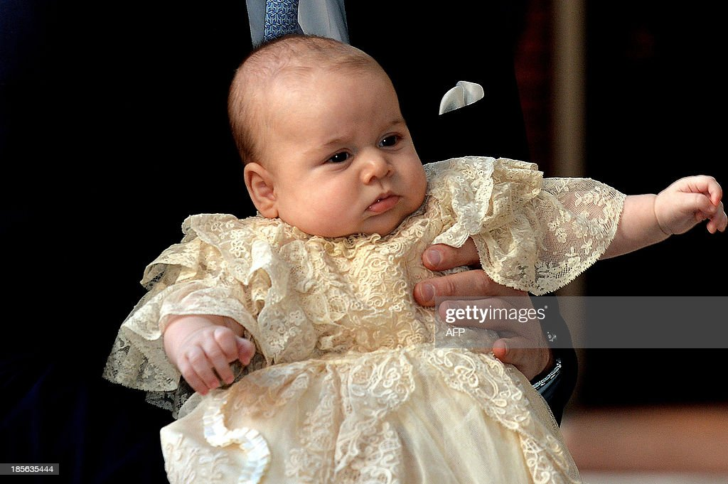BRITAIN-ROYALS-BABY-RELIGION : News Photo
