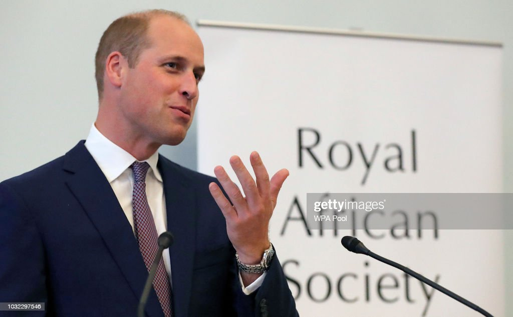 Duke of Cambridge Attends Royal African Society Reception