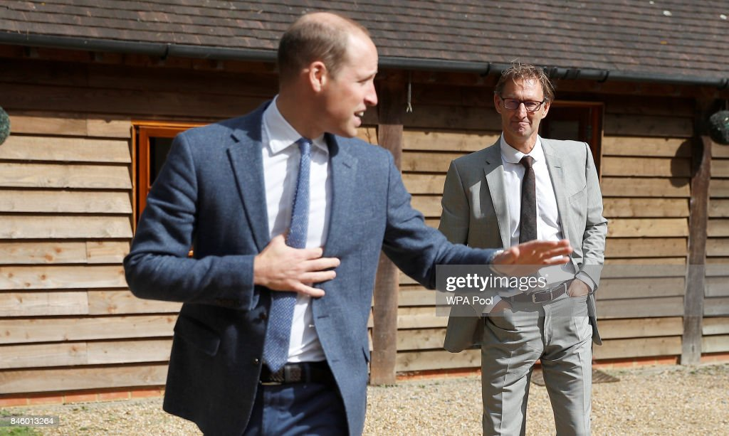The Duke Of Cambridge Visits Sporting Chance
